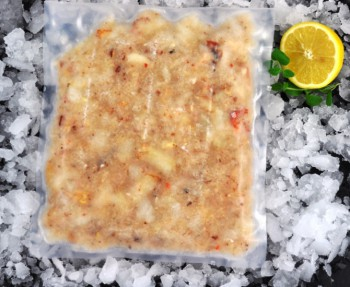 Frozen Cooked White Crab Meat